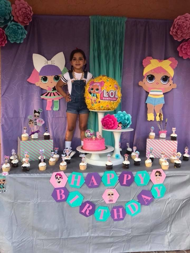 LOL Surprise Dolls Birthday Party Lol Doll 6th Parties 8th