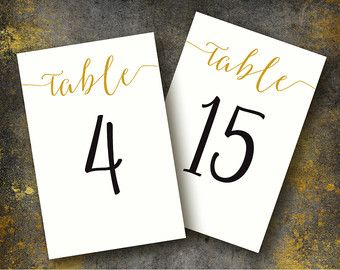 Table numbers 4x6 table numbers printable wedding table for 48 hour print templates