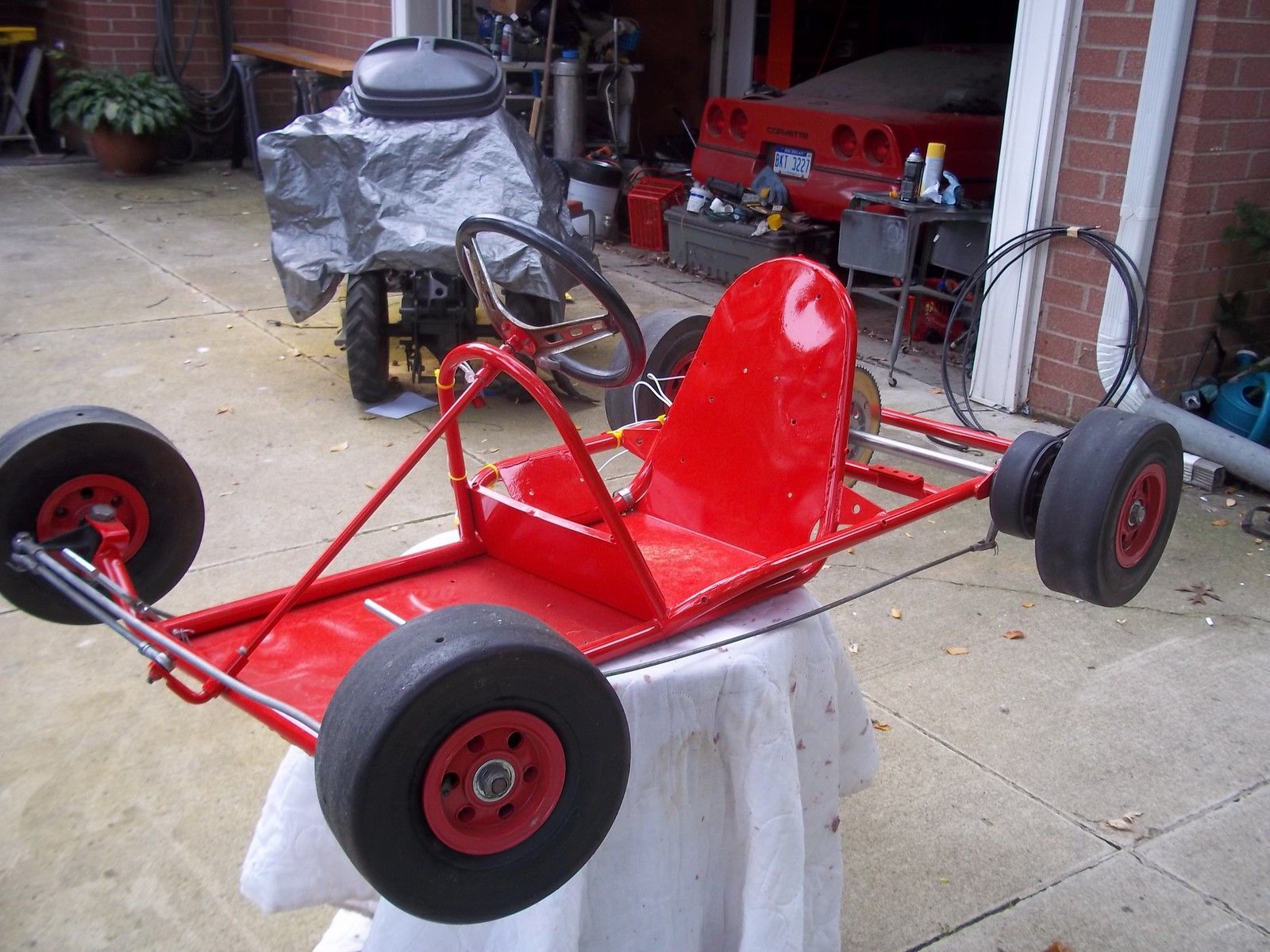 Vintage, Antique Go-Kart 1962 RUPP A BONE