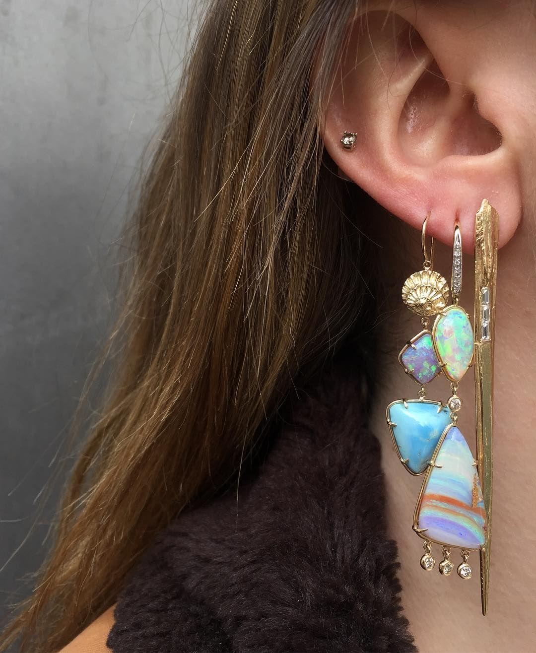2nd ear piercing ideas   Likes  Comments  ROSEARK roseark on Instagram ucHo