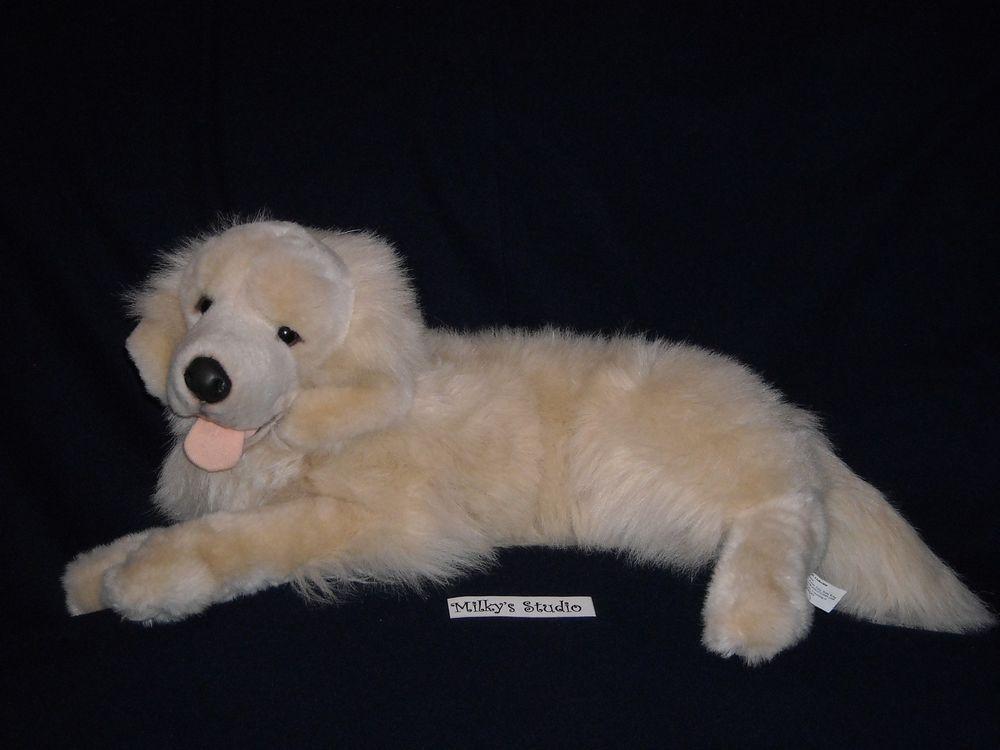 Large Tan Labrador Golden Retriever Dog Prima Classic Stuffed