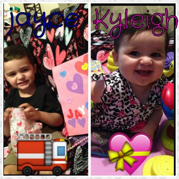 Happy valentines day this is my gorgeous grandkids  ❤nana n papas babies ............