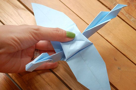 How to Make an Origami Dragon (with Pictures) - wikiHow | 366x550