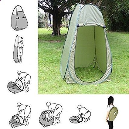 Amazon Faswin Large Portable Outdoor Pop Up Toilet Tent