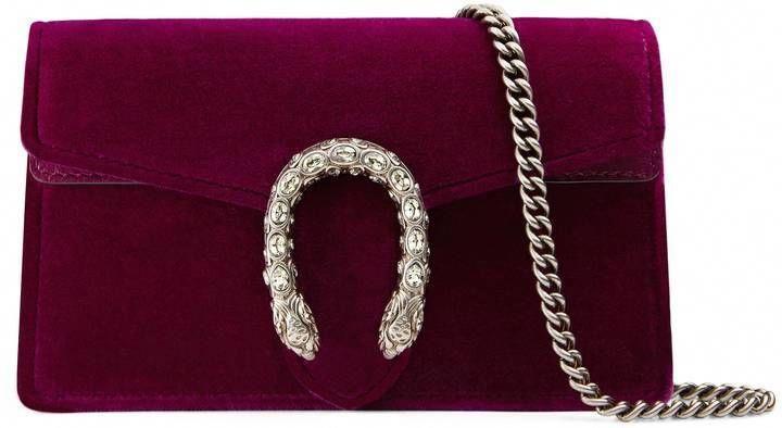 54b49b19b0aa Gucci Dionysus velvet super mini bag  Guccihandbags