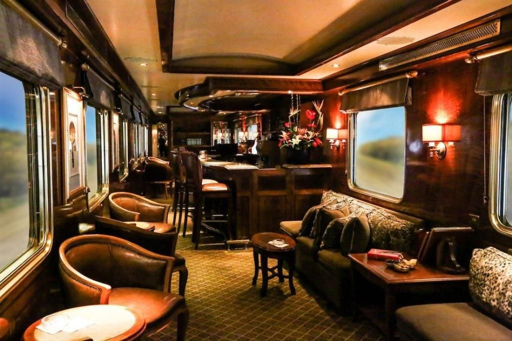The Most Luxurious Trains In The World Luxury Train Blue Train Train
