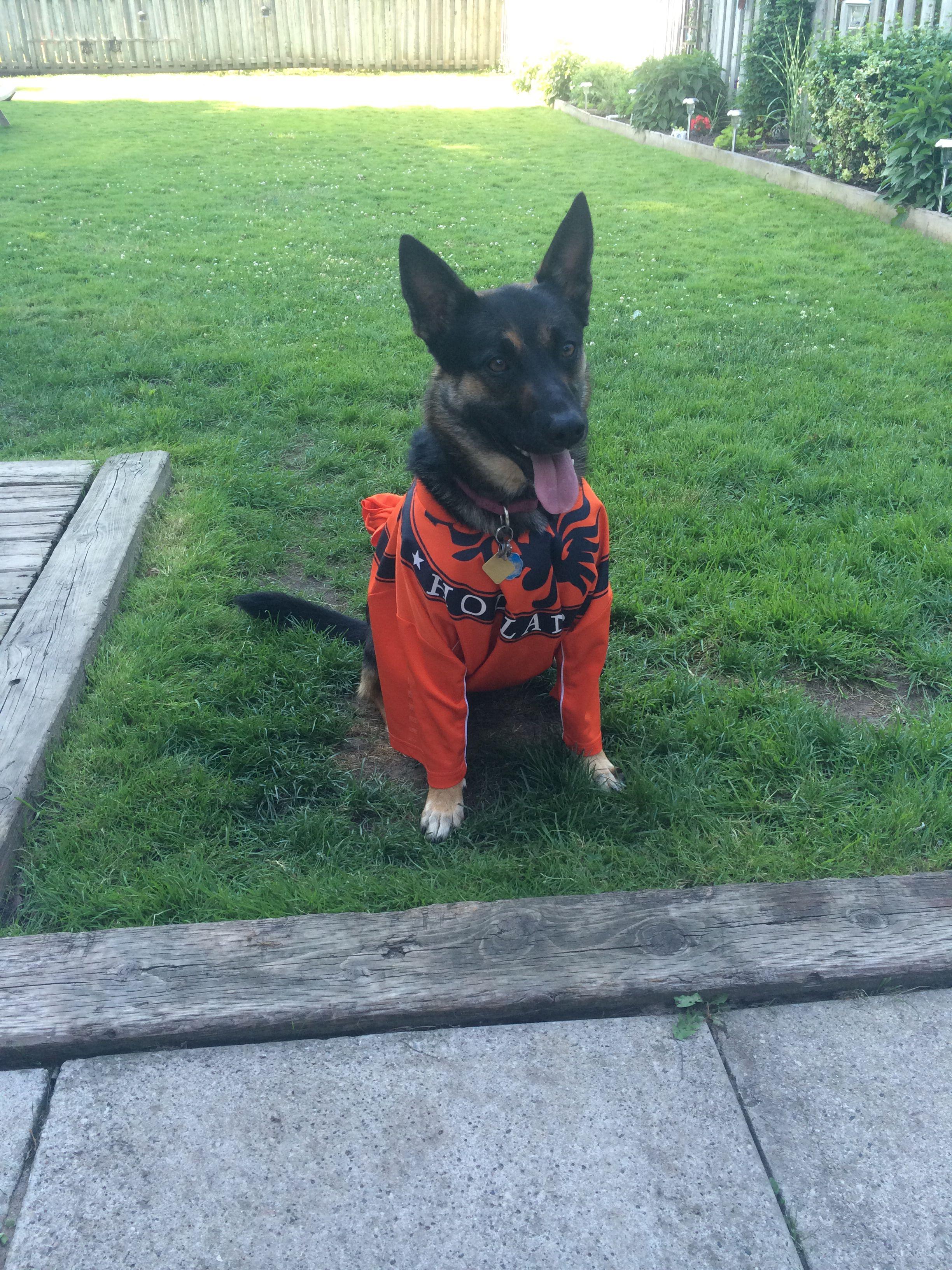 My Dutch cheerleader!!