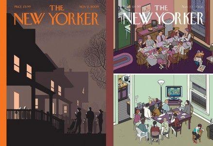 Las ilustraciones de Chris Ware para The New Yorker /www.creativosonline.org/blog/las-portadas-de-chris-ware-para-new-yorker.html