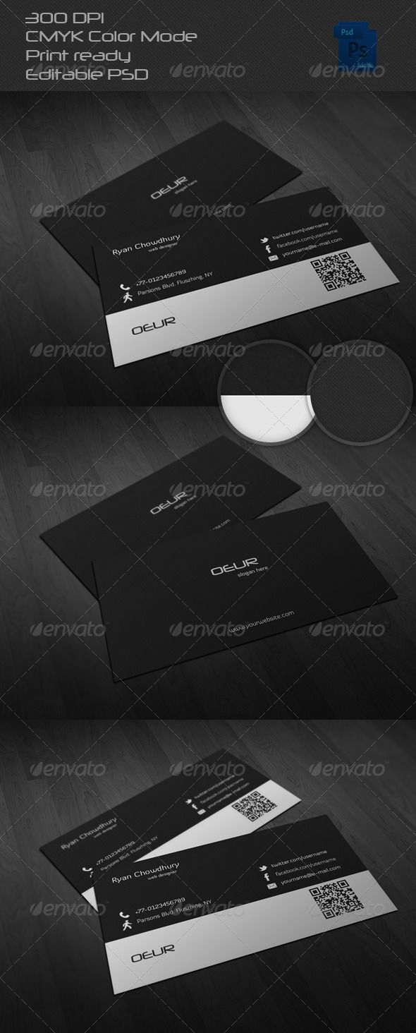 Corporate business card graphicriver print templates pinterest corporate business card graphicriver reheart Images