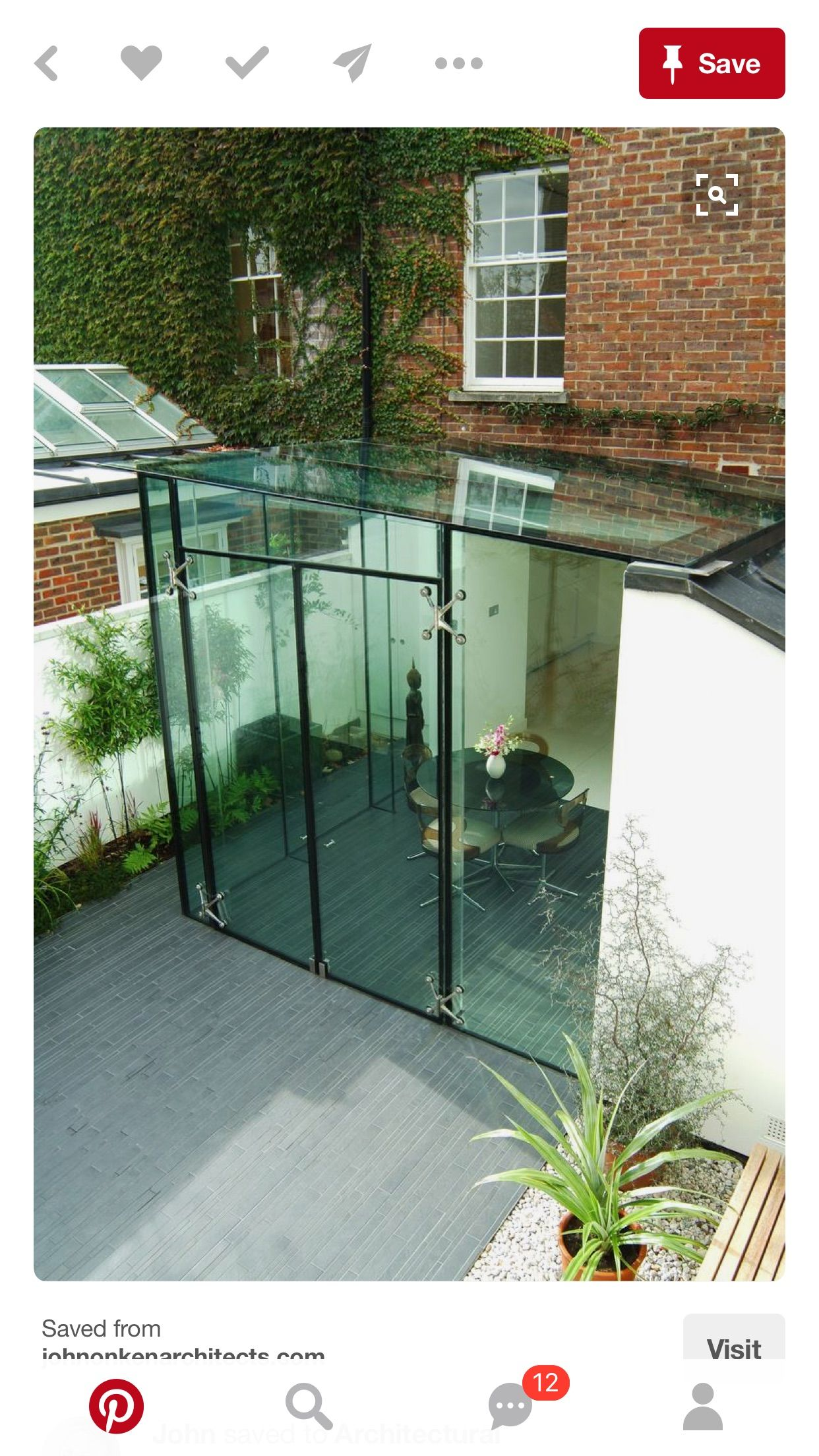 Giardino D Inverno In Vetro pin by vhoram on 85sr architect | glass extension, glass