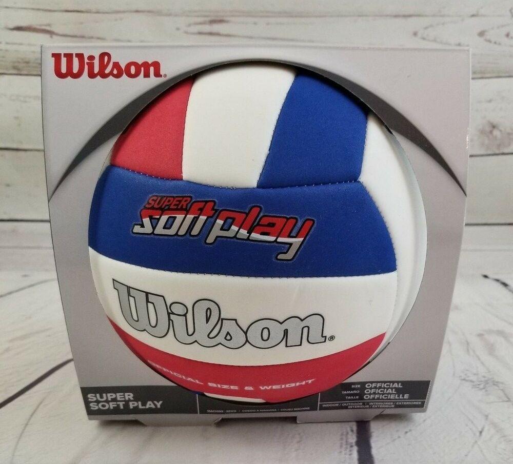 WILSON  Super Soft Play Volleyball BEACH BALL