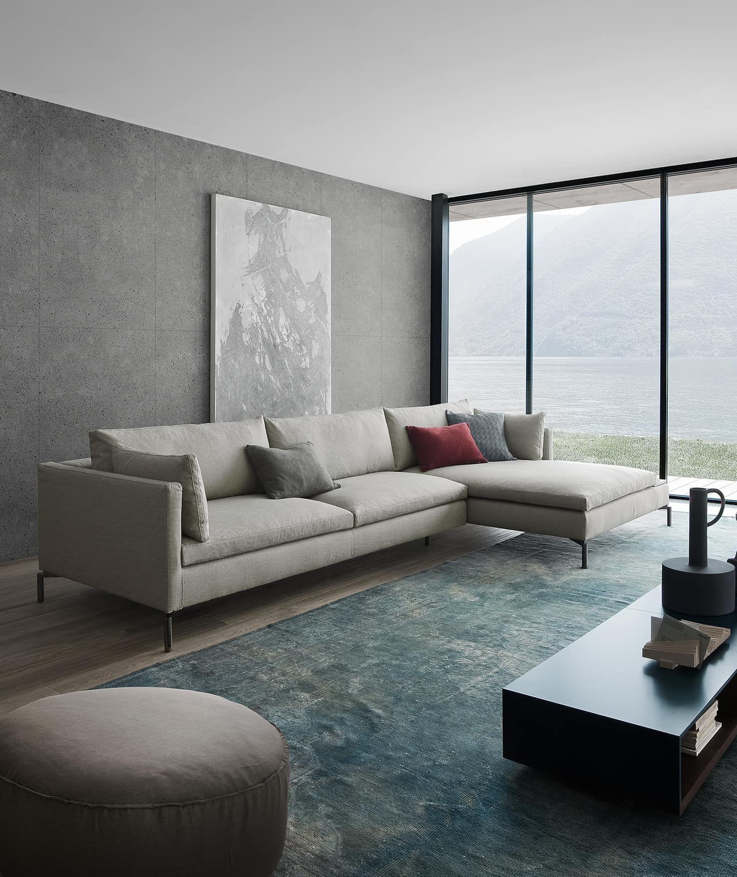 Novamobili reverse wohnzimmer minimalistische wohnzimmer von