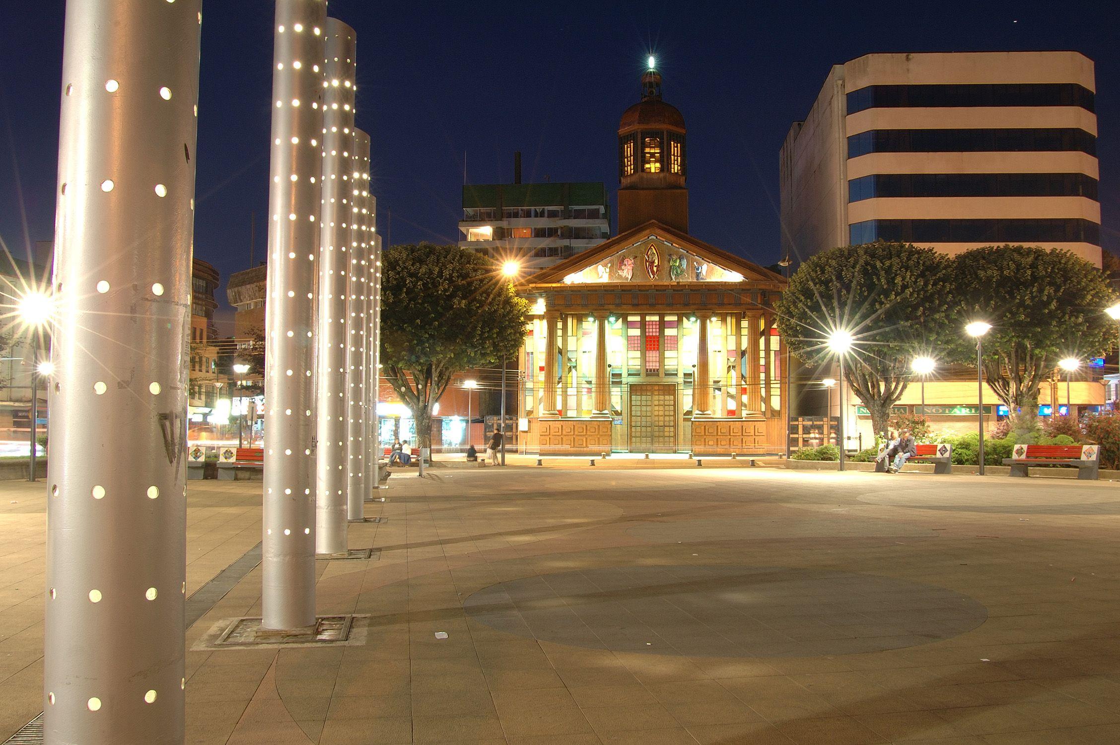 Plaza de Armas y Catedral. Plaza de armas, Puerto montt