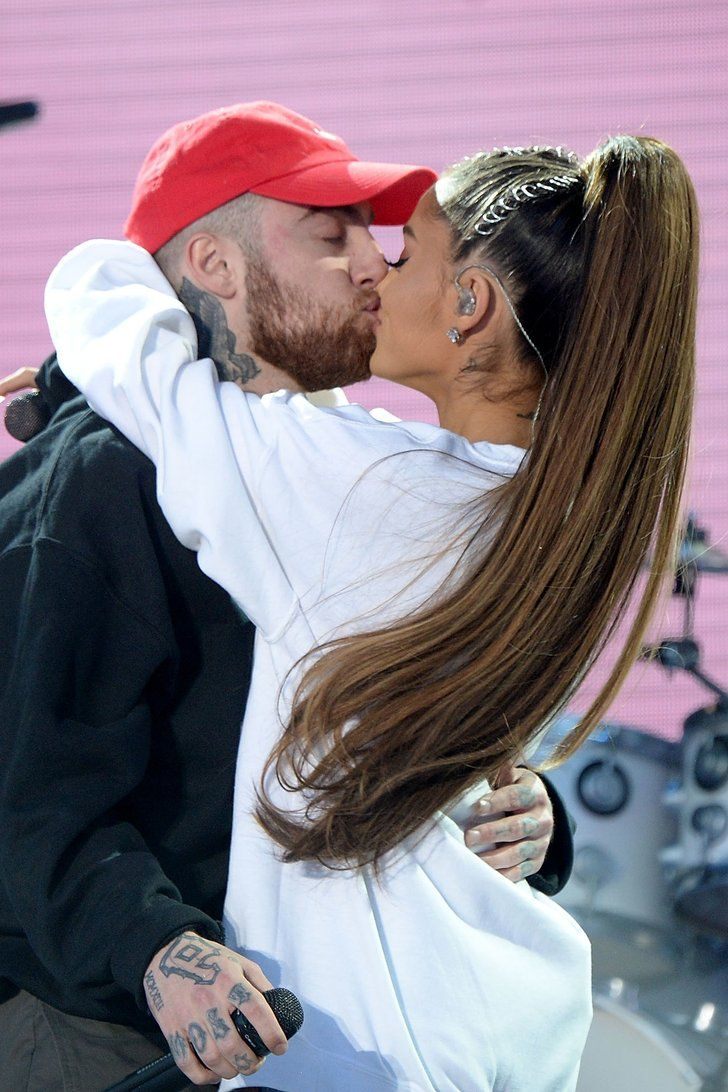23 Times Ariana Grande and Mac Miller Weren't Shy About Showing PDA