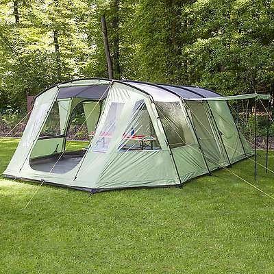 skandika Nordland 4 PersonMan Family Tent Sewn in Floor