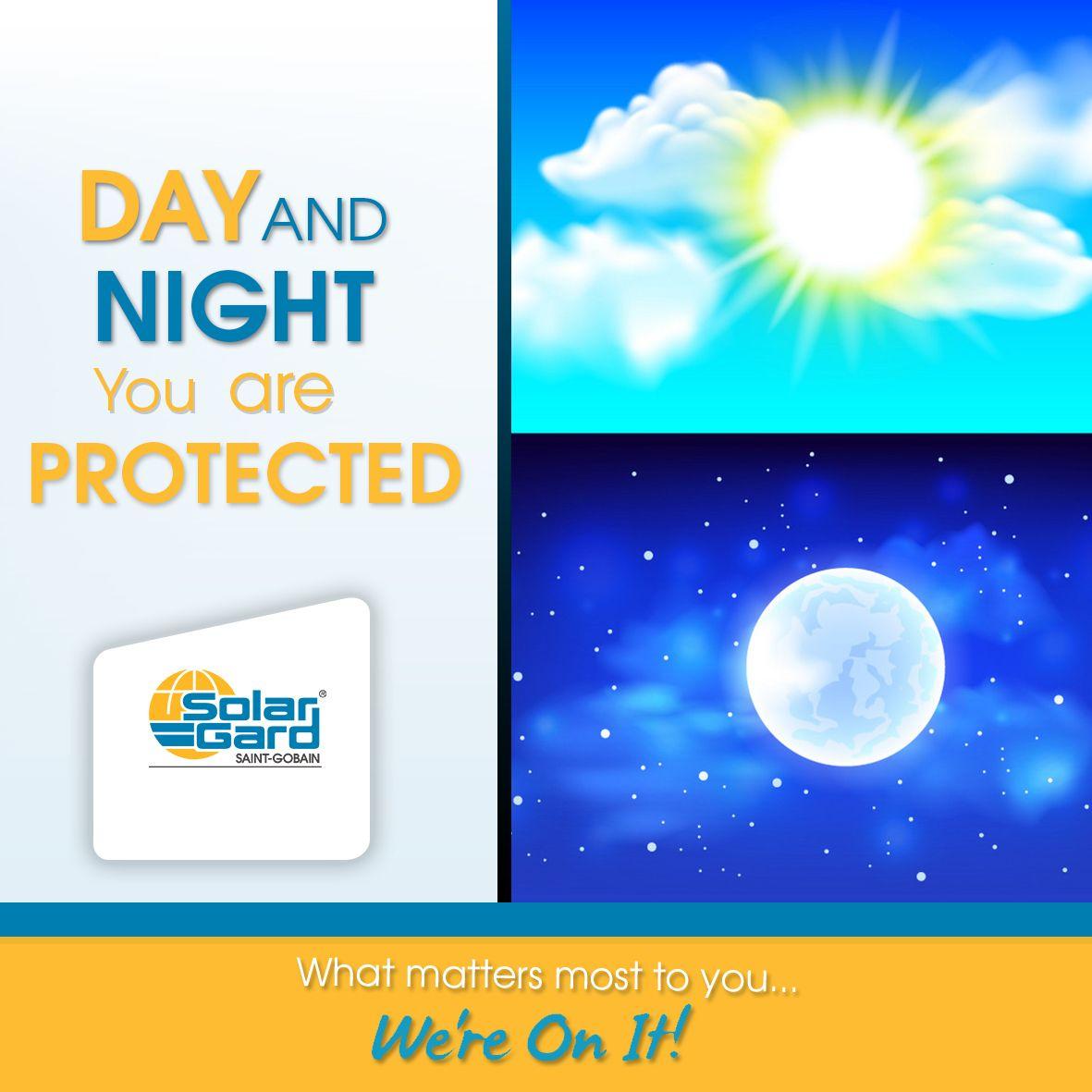 هذا الجلاد تستفيد منه ليلا ونهار وهو غير مرئي ولا يغير لون الزجاج كما انه يحميك في حالة كسر الزجاج وحمايتك ايضا من الاشعة فوق البنفسجية Solar Gard Learning