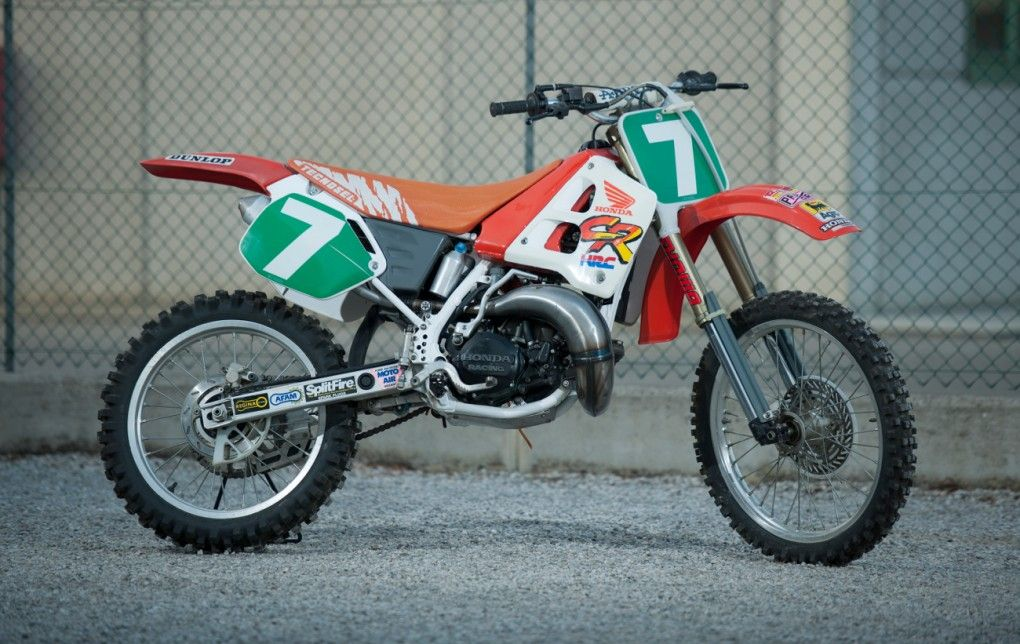 Trampas Parker's 1991 CR250 factory team Martin