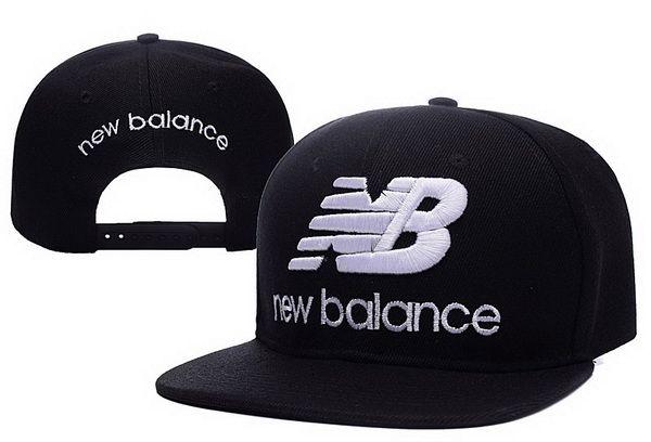 Hot Fashionable New Balance Black Snapback Hat leisure hip-hop ...