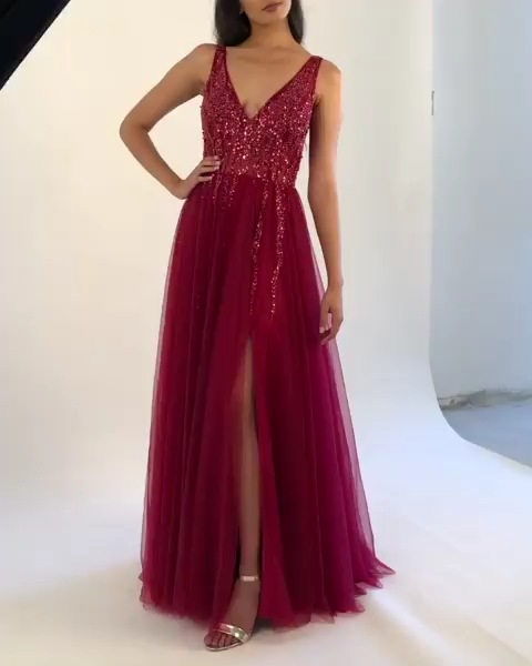 Photo of Abendkleid Ballkleid lang 2020