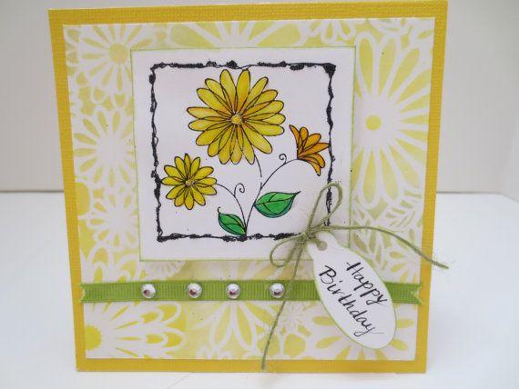 Card/Handmade Birthday Card by anasdesignshop on Etsy ...