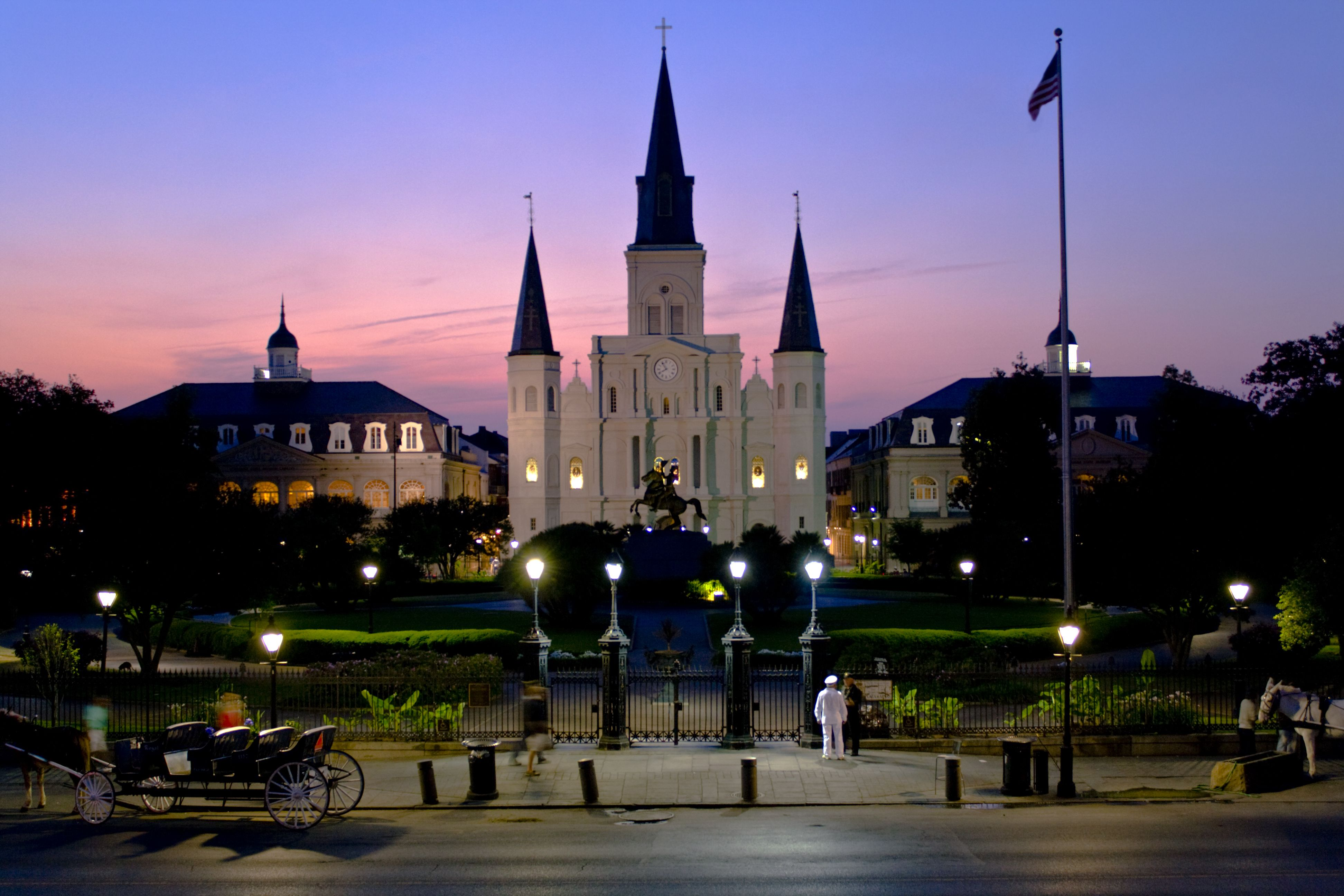 saint louis cathedral is a symbol of new orleans original image