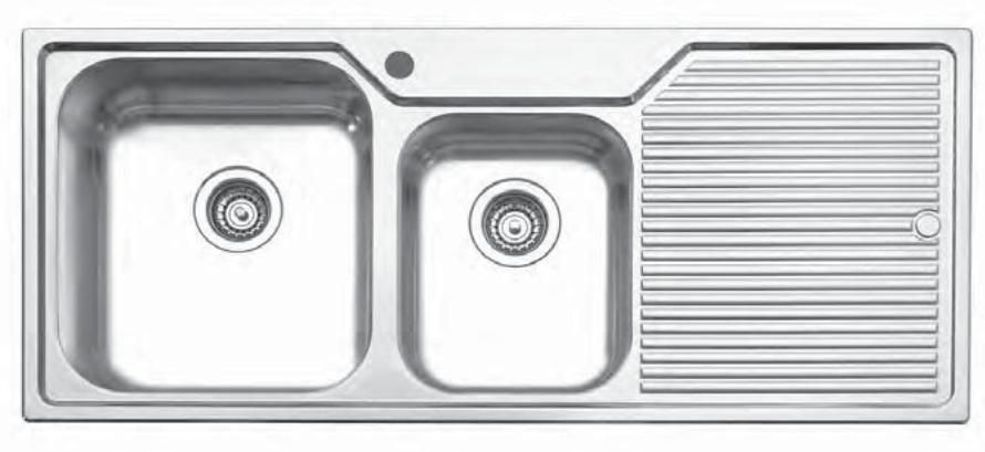Great But Too Expensive Oliveri 273 1 Drain Board Series