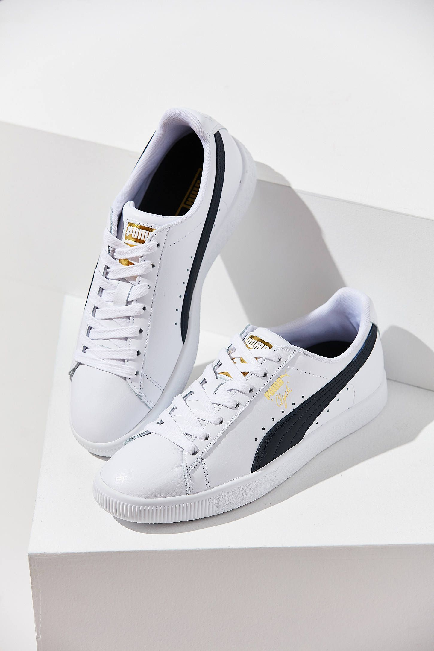 8f72cfd4c69e48 Slide View: 1: Puma Clyde Core Foil Sneaker | shoes in 2019 ...