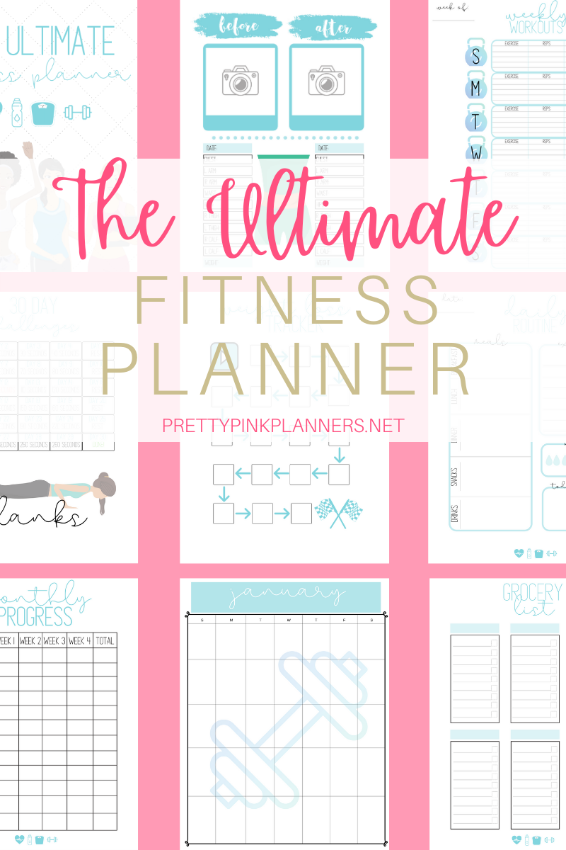 The Ultimate Fitness Planner