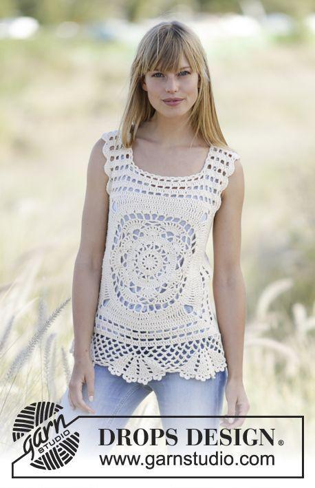 Free Pattern | vestidos | Pinterest | Blusas tejidas, Blusas crochet ...
