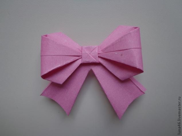 Origami Bow Tutorial | Tutorial de origami, Manualidades, Origami | 476x635
