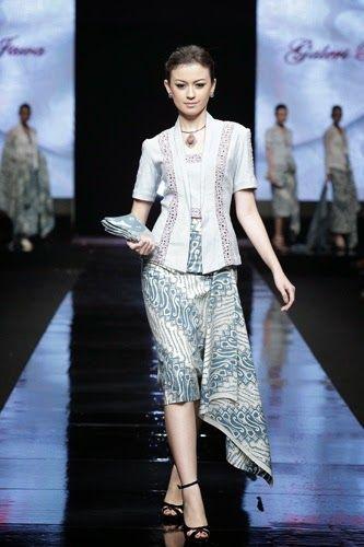 Kebaya Modern Simple Elegan Dress Kebaya Model Dan Proyek