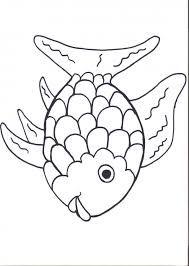 fish template for preschool: rainbow fish printables