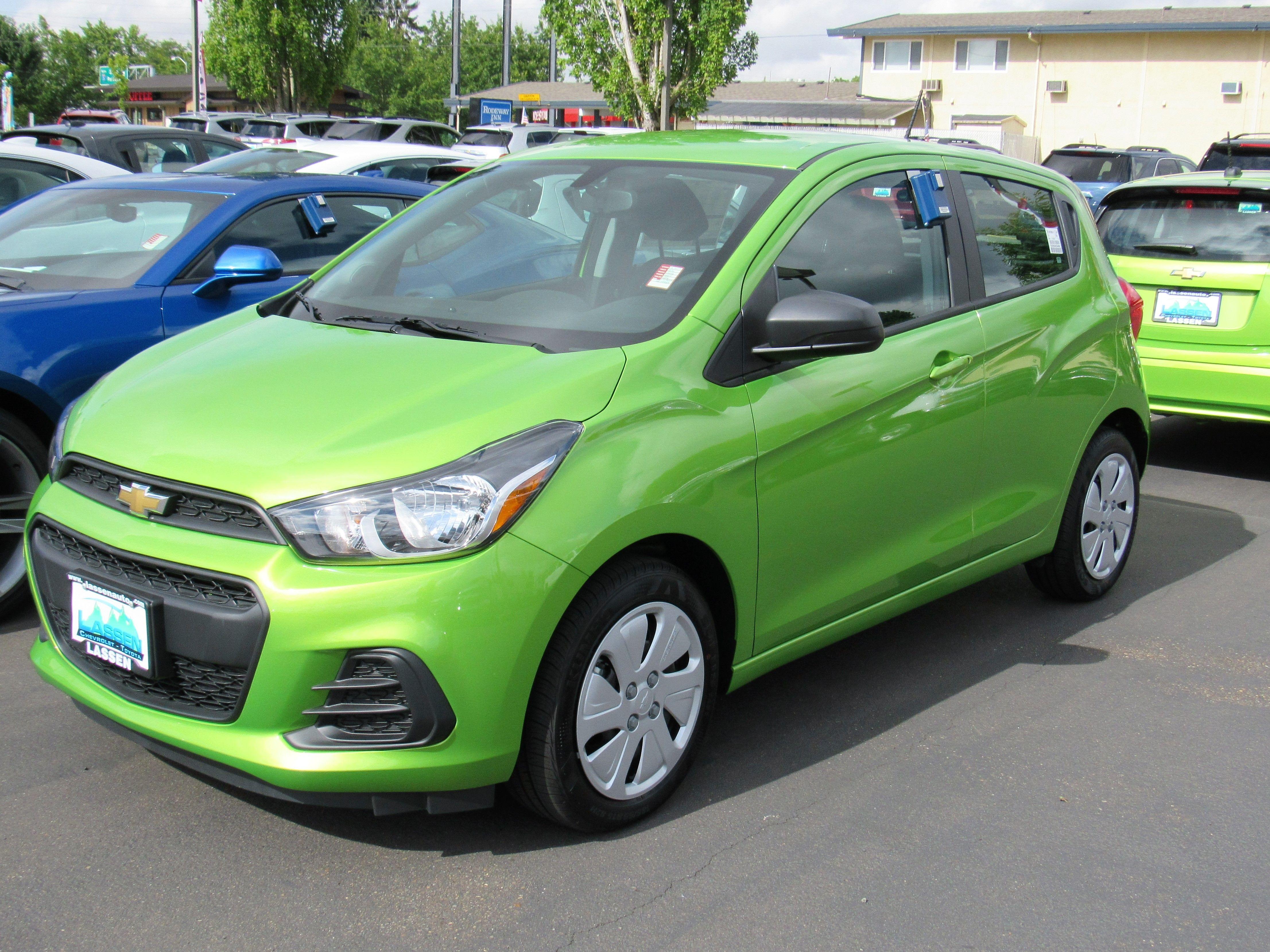 Call (541) 926 4236 For Details 2016 Chevrolet Spark Stock # 6673 Lassen  Chevrolet/Toyota Albany, OR 97322