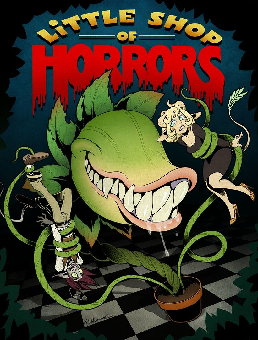 Little Shop Of Horrors Didn T Think I Would Be Into This But I Actually Loved It Sacramento Music Circus 8 Little Shop Of Horrors Horror Movie Art Horror Art
