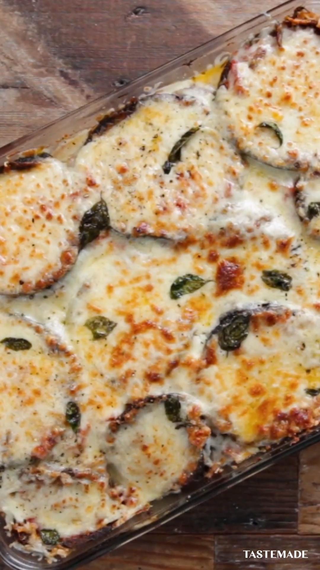Best-Ever Chicken & Eggplant Lasagna