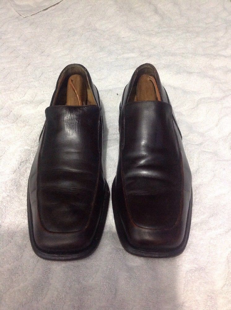 fd640a0bde7 BALLY BROWN LEATHER SLIP ON LOAFERS MADE IN ITALY MEN S 10EU  11US  fashion   clothing  shoes  accessories  mensshoes  dressshoes  ad (ebay link)
