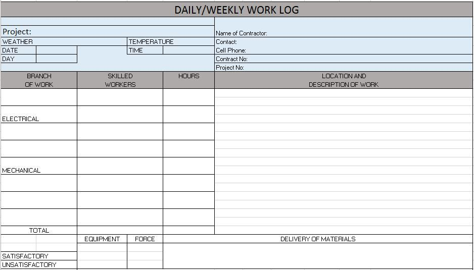 Free Construction Project Management Templates in Excel ...