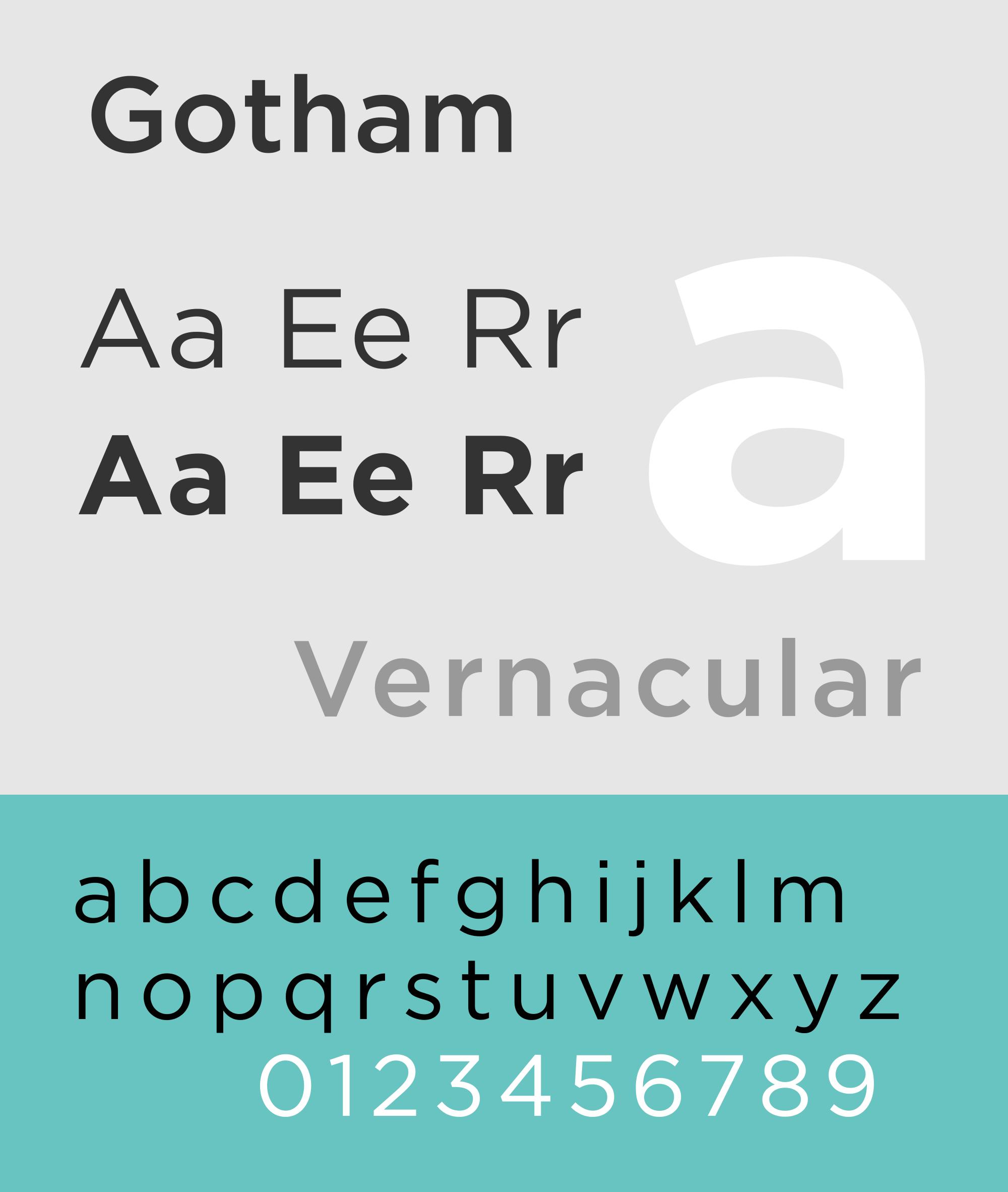 las tipografías más utilizadas en publicidad: Gotham   Hobby ...