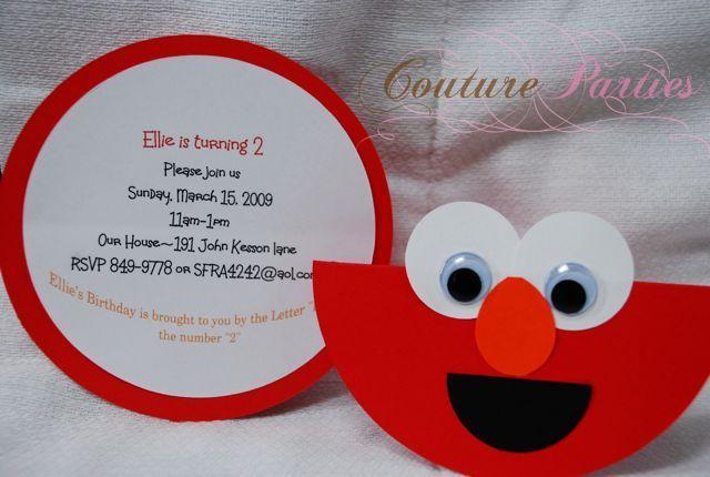 Elmo invite