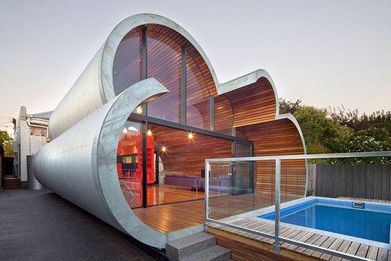 Au ergew hnliche architektur das cloud house haeuser for Minimalistische lebensweise