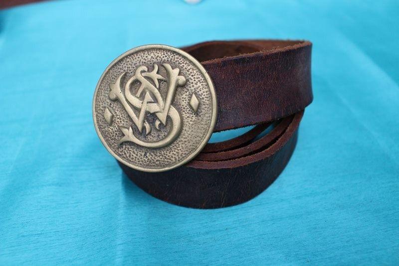 sélectionner pour officiel prix de détail incroyable sélection ceinture cuir grosse boucle dore TU vintage retro hippie ...