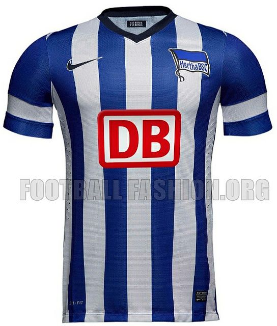 Hertha Berlin 2013 14 Nike Home and Away Jerseys  c77b74d4c