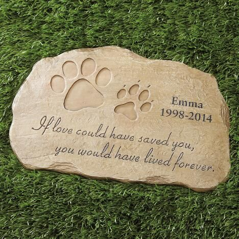 Pet memorial personalized garden stone 2999 its all about my pet memorial personalized garden stone 2999 workwithnaturefo