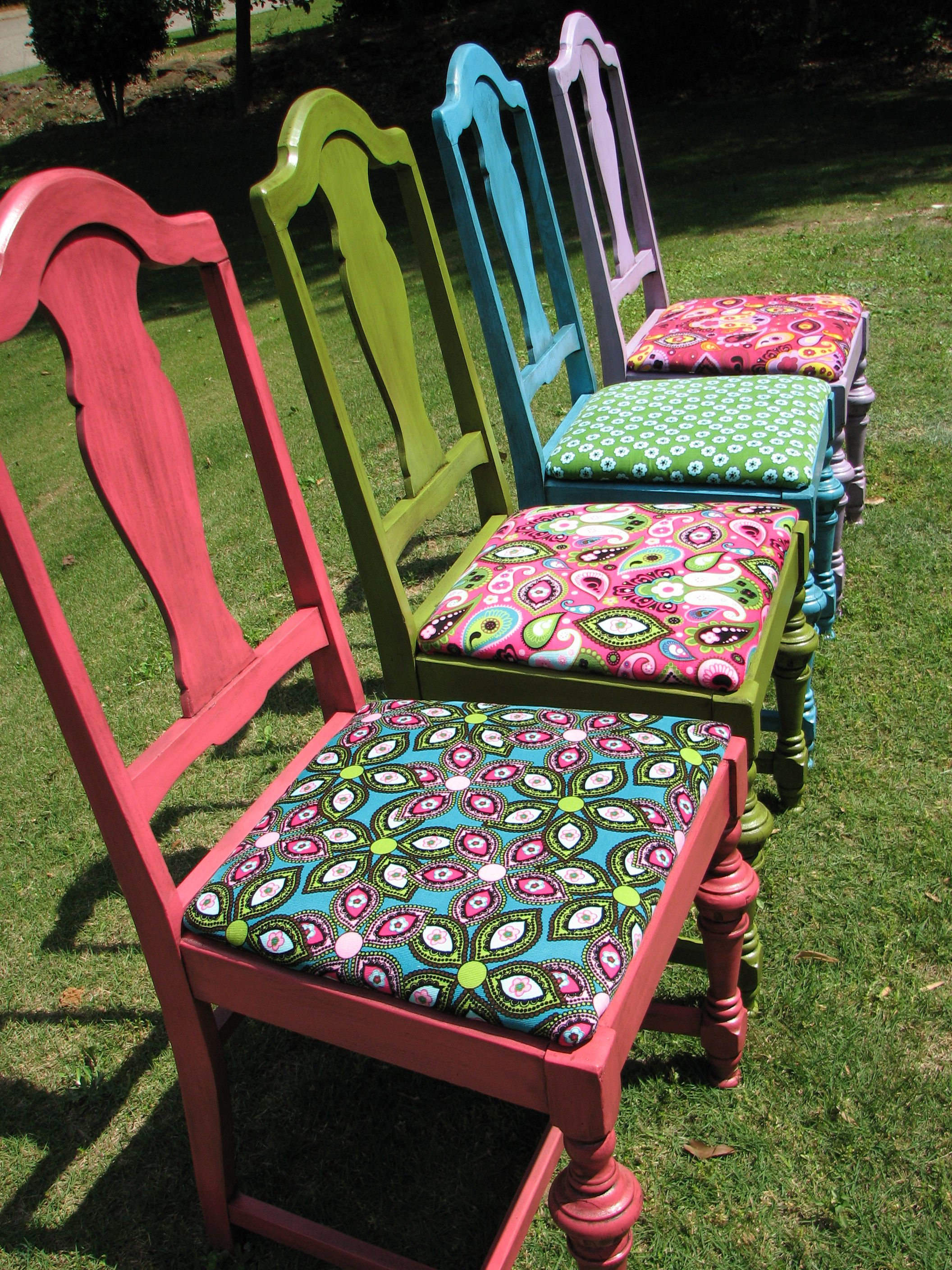 Refinished Antique Chairs I Love Making Old Things New