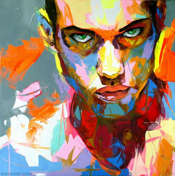 30 Mind Blowing And Colorful Paintings By Famous French Artist Patrice Murciano