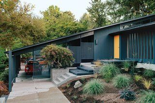 Midcentury Renovation in Portland Capitalizes on Nature with Seven Doors to the Outside - Photo 1 of 19 -