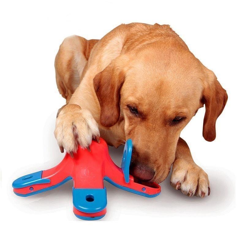 Interactive Dog Toys Exercise Volcano Interactive Dog Feeder