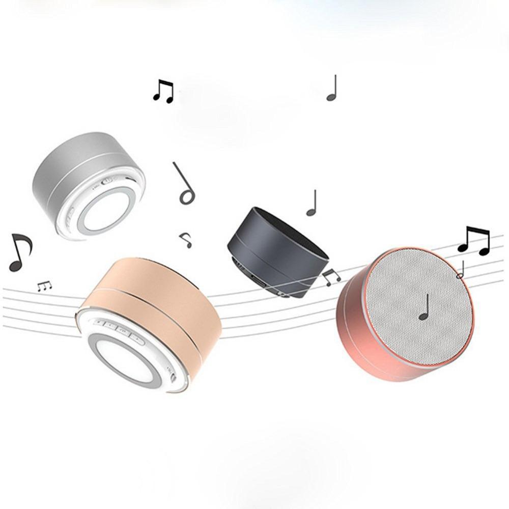 7.29$ Know more caixa de som Wireless Bluetooth Metal Mini