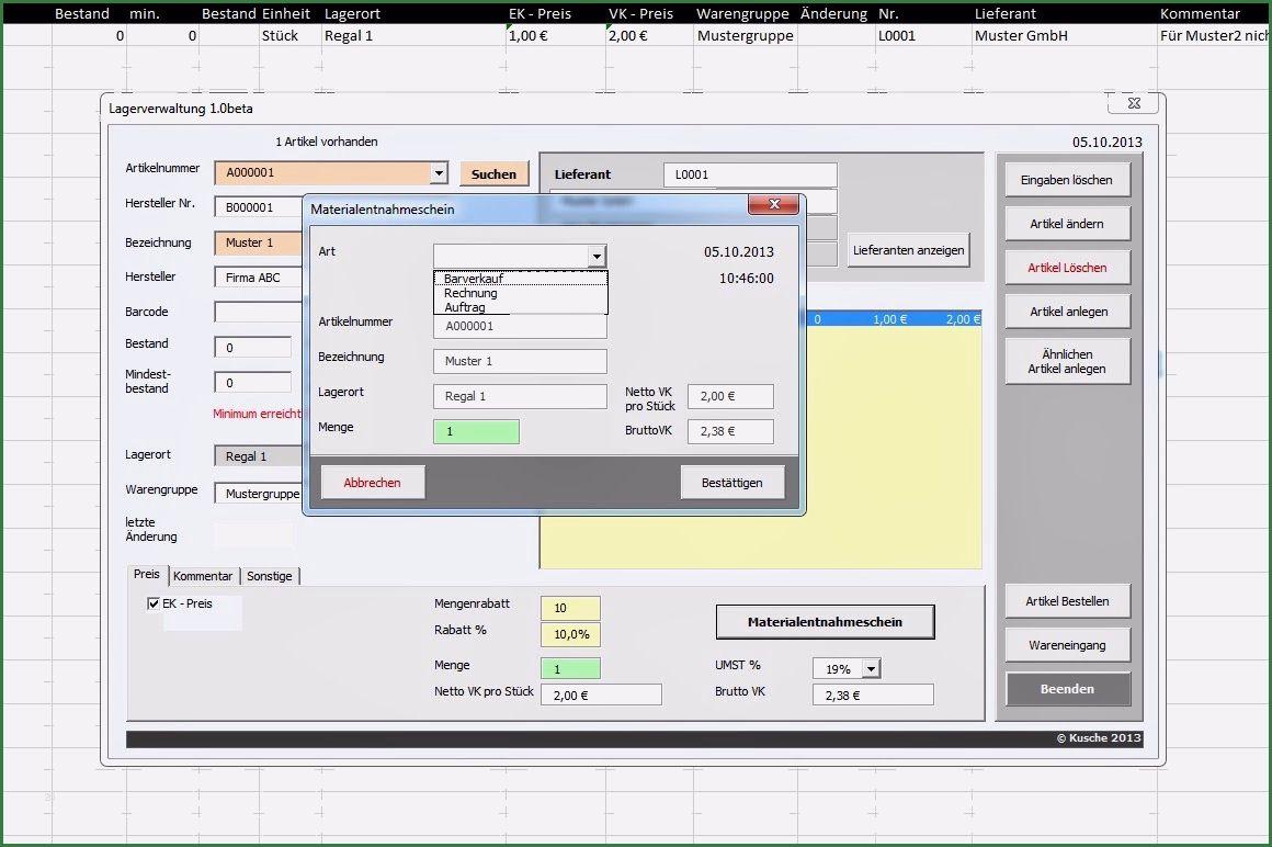Wunderbar Lagerverwaltung Excel Vorlage Von 2020 Excel Vorlage Verwaltung Vorlagen