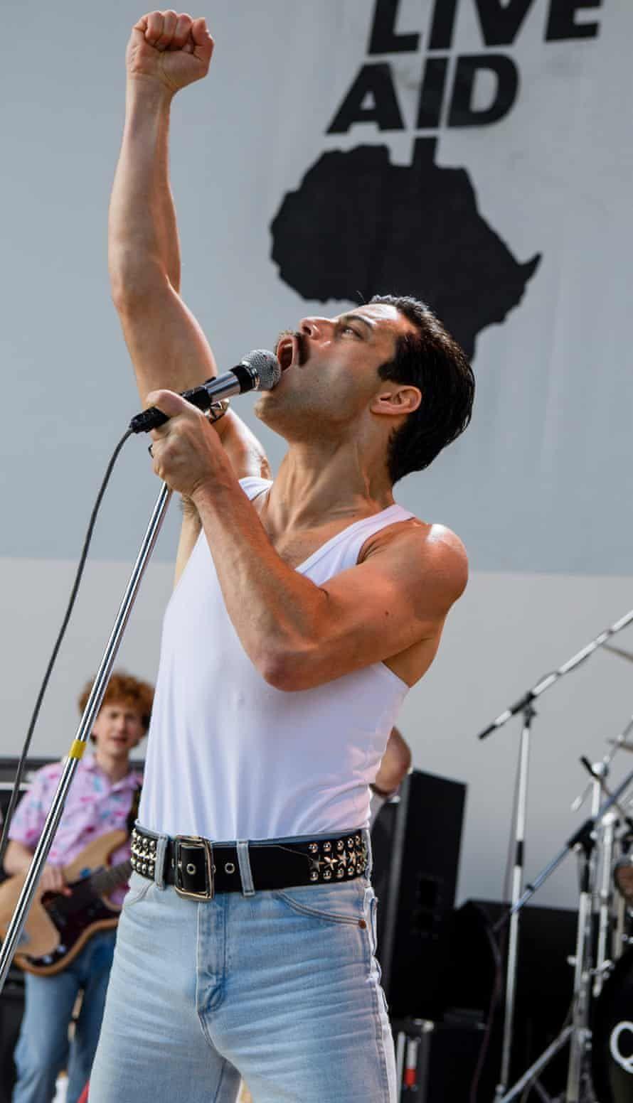 Bohemian Rhapsody 2018 20th Century Fox Press Publicity Film Still Queen Movie Bohemian Rhapsody Freddie Mercury